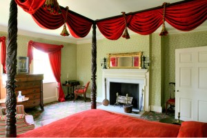 Aaron Burr's Bed Chamber at the Morris Jumel Mansion