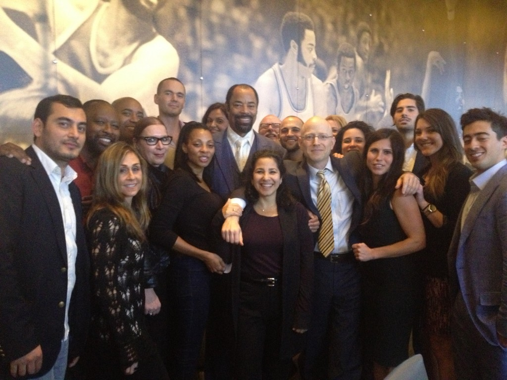 """KW Cares Event with Walt """"Clyde"""" Frazier"""
